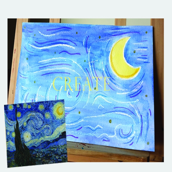 Create a Van Gogh Inspired Master Piece