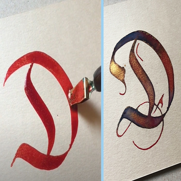 How to to create A Gothic Letter!