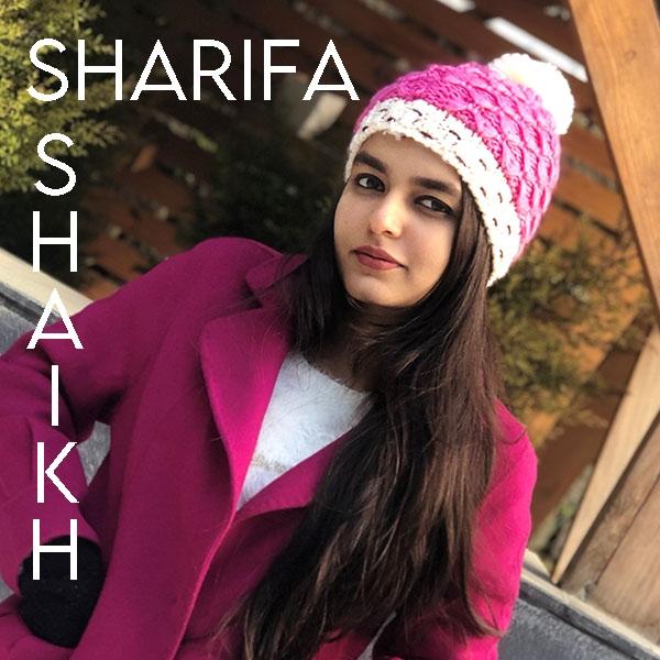 July's Artist of the Month... Sharifa Shaikh