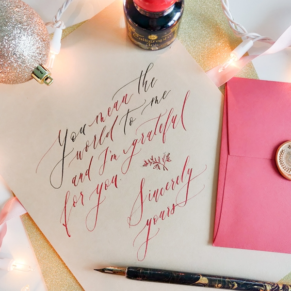 Mindfull Calligraphy with Mandy Wan