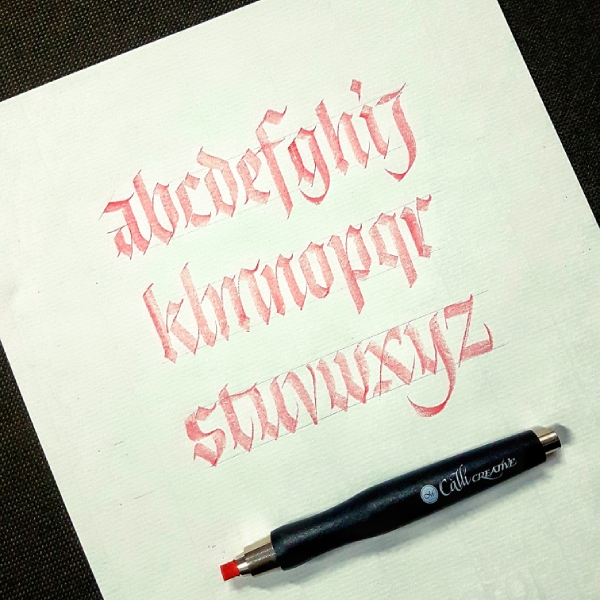 Calligraphy and Lettering with Sachin Shah